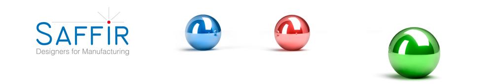 Saffir, Designers for Manufacturing Logo